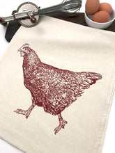 Load image into Gallery viewer, Chicken Flour Sack Towel