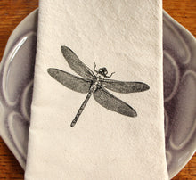 Load image into Gallery viewer, Dragonfly Napkin Set of 2