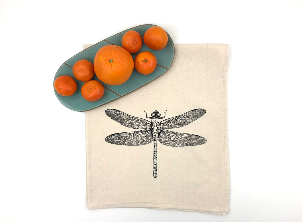 Dragonfly Flour Sack Towel