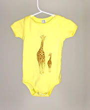 Load image into Gallery viewer, Giraffe Short Sleeve Bodysuit