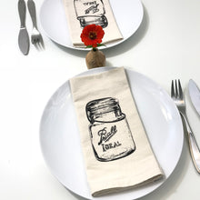 Load image into Gallery viewer, Ball Canning Jar Napkin Set of 2