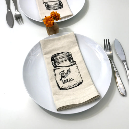 Ball Canning Jar Napkin Set of 2
