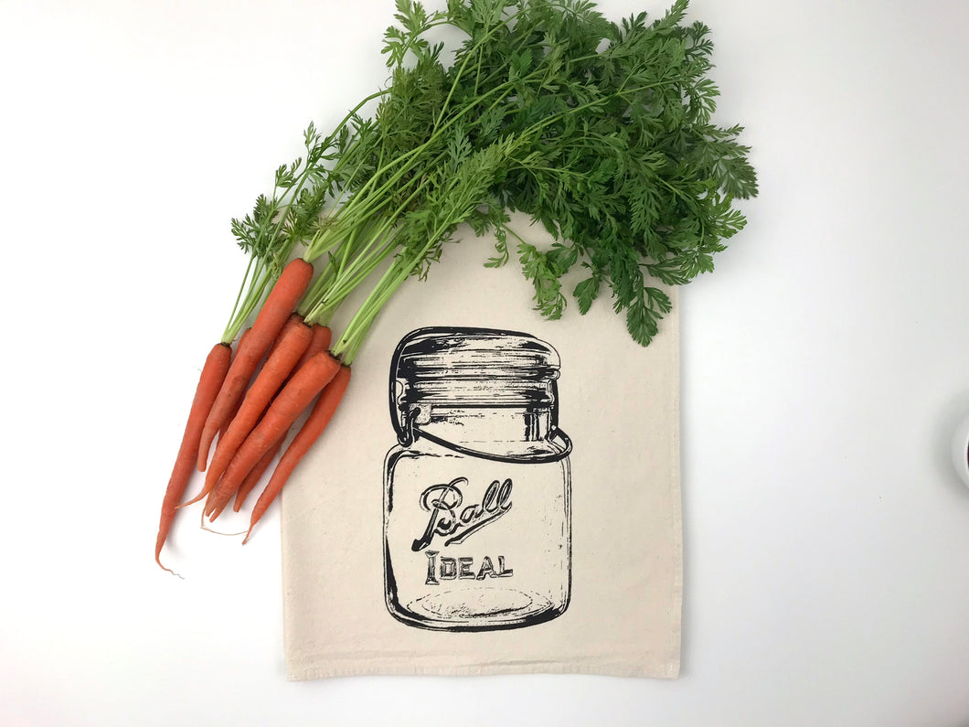 Ball Canning Jar Flour Sack Towel