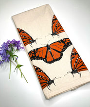 Load image into Gallery viewer, Monarch Butterfly Flour Sack Towel