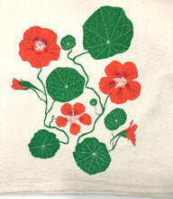 Load image into Gallery viewer, Nasturtiums Flour Sack Towel