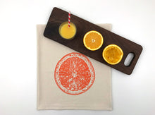 Load image into Gallery viewer, Orange Slice Flour Sack Towel