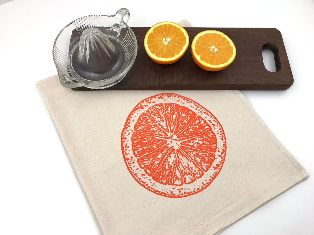 Orange Slice Flour Sack Towel