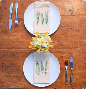 Peapod Napkin Set of 2