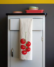 Load image into Gallery viewer, Tomato Vine Flour Sack Towel