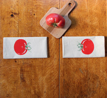 Load image into Gallery viewer, Tomato Napkin Set of 2