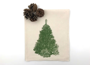 Christmas Tree Flour Sack Tea Towel