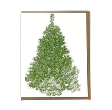 Load image into Gallery viewer, Evergreen Tree Holiday Card