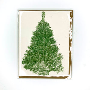 Evergreen Tree Holiday Card