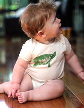 Load image into Gallery viewer, Turtle Short Sleeve Onesie