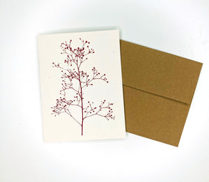 Holiday Berry Branch Card