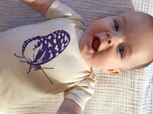 Load image into Gallery viewer, Butterfly baby bodysuit