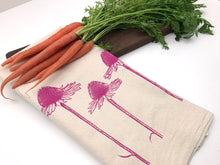 Load image into Gallery viewer, Coneflower Flour Sack Towel