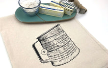 Load image into Gallery viewer, Antique Sifter Flour Sack Towel