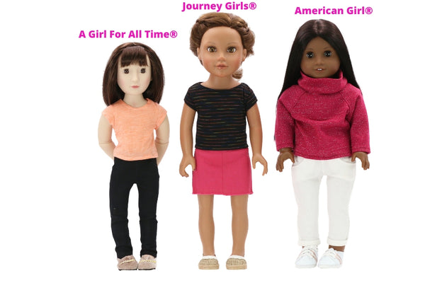 Journey Girls® Compared to American Girl®