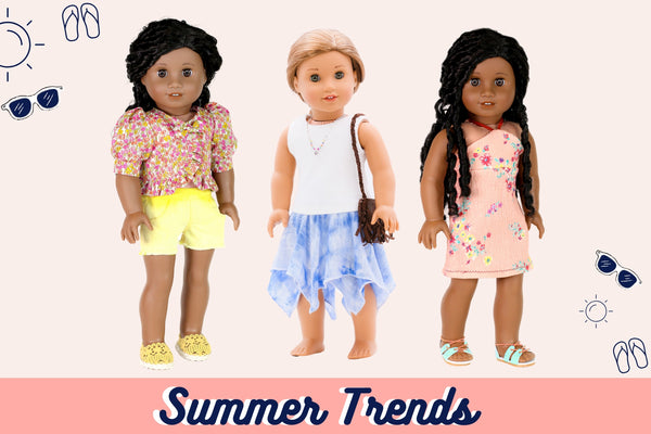 Summer 2020 Trends To Sew For Your Doll