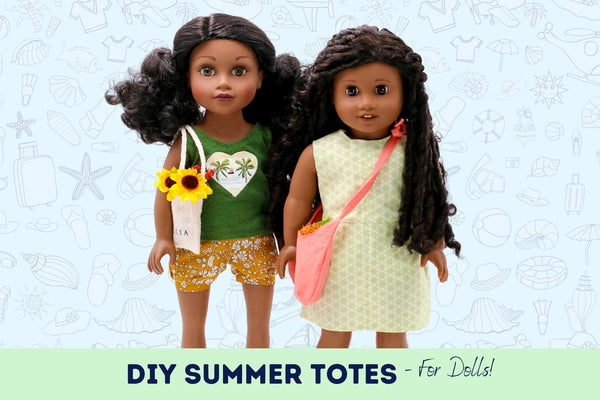 DIY Summer Tote Bags for Dolls