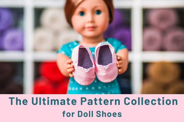 Patterns For DIY Doll Shoes