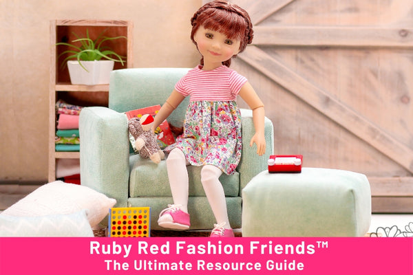 Ruby Red Fashion Friends™ Doll Review