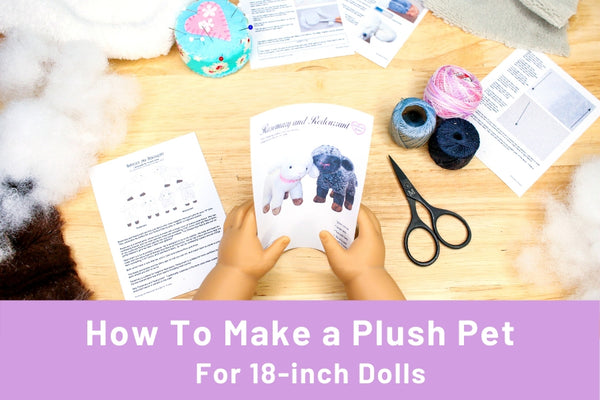 How to make a stuffed animal for your 18-inch doll