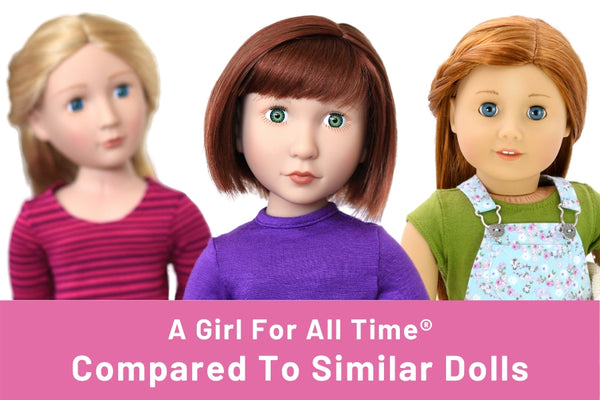 A Girl For All Time vs American Girl Comparison
