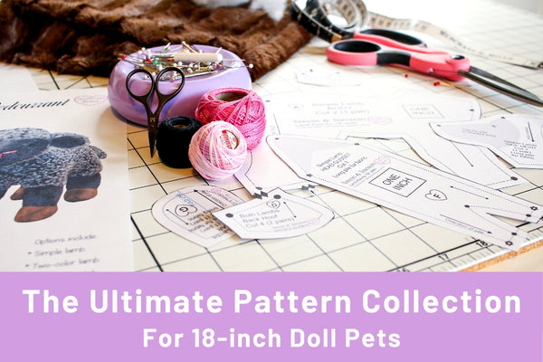 Patterns For Plush Pet Stuffed animals
