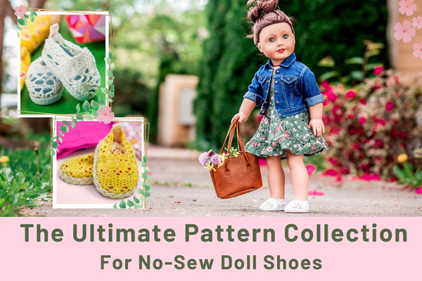 How To Make No-Sew Doll Shoes