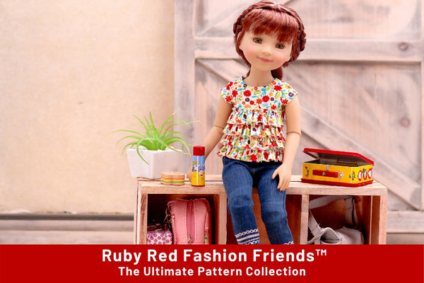 Sewing Pattern Collection For Ruby Red Fashion Friends™ Doll Clothes