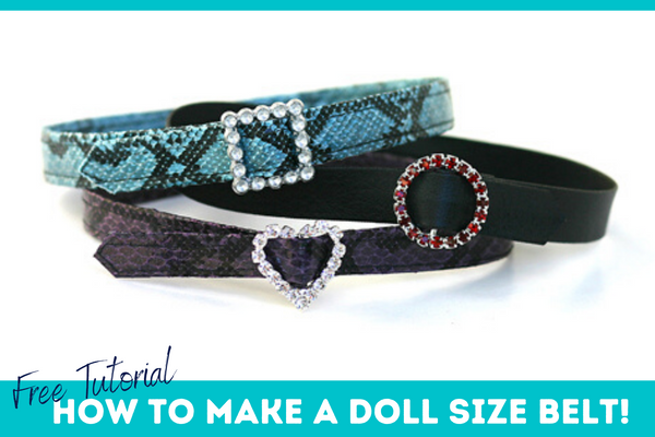 How to make a doll belt Pixie Faire