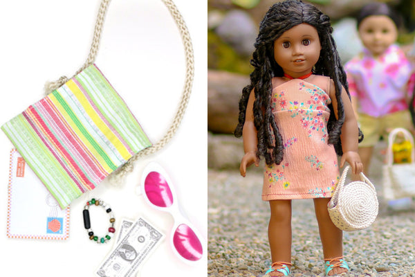Summer Bag Tutorial For 18-inch Dolls