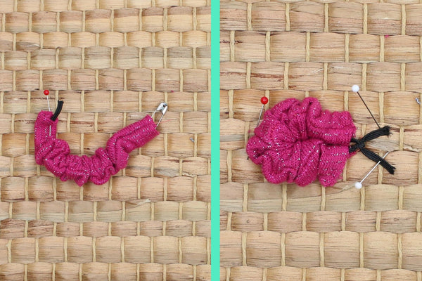 How to Make a Doll-Sized Scrunchie