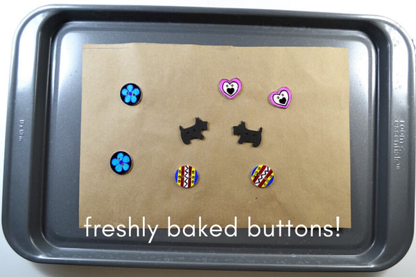 Make Your Own Buttons In The Oven
