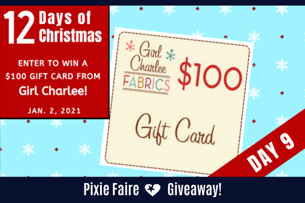 Christmas Giveaway 2021 Near Me 12 Days Of Christmas Day 9 Giveaway January 2 2021 Pixie Faire