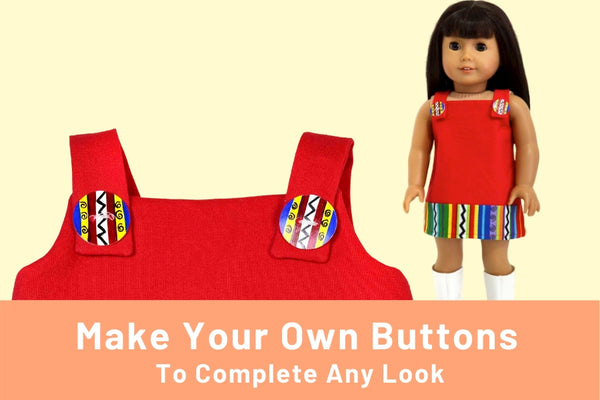 Make Your Own Buttons For Doll Clothes