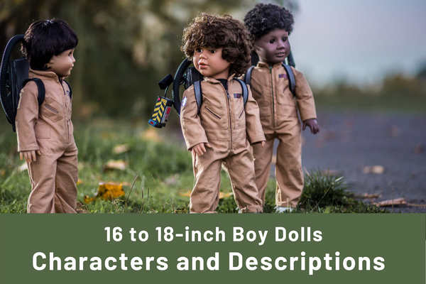 Boy dolls compared
