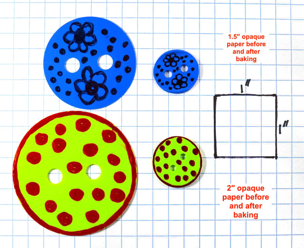 Make Your Own Buttons With Shrink Paper