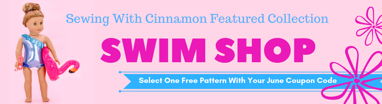 830ad3d469f4 The Swim Shop Collection is the Sewing With Cinnamon featured collection  for June 2019. The topic of the month is Sewing Swimsuits, if you're not a  member ...