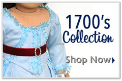 18 inch Doll Clothes Patterns Historical Clothing for