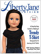 Journey Girls® Free T-shirt Sewing Pattern