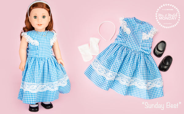 3b4fec028 The dress is pretty enough to wear to church or can be used for dress up as  our favorite little girl from Kansas!