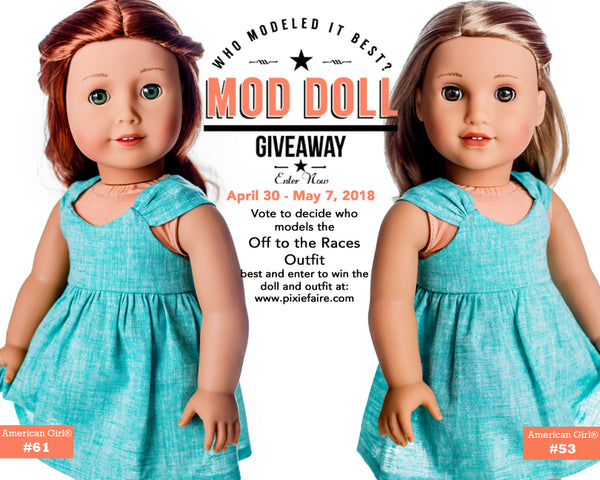 American Girl Doll Giveaway at Pixie Faire