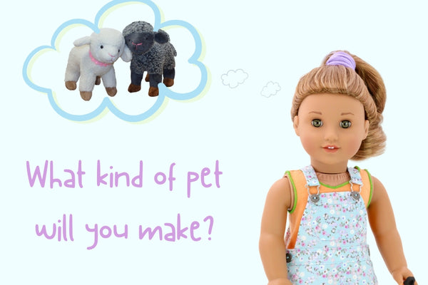 How to make an 18-inch doll pet