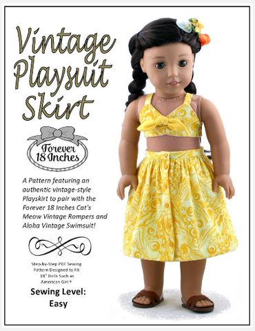 Free Doll Clothes Pattern From Forever 18 Inches (Help Us Spread The ...