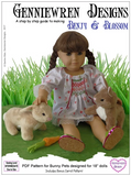 How to Make a bunny for 18-inch dolls