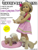How to make a puppy for 18-inch dolls