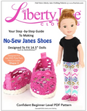 No-Sew Janes Pattern for 14.5-inch dolls